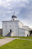 Church in Yaroslav's Court, Great Novgorod, Russia Royalty Free Stock Images