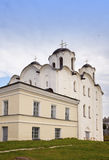 Church in Yaroslav's Court, Great Novgorod, Russia Stock Images