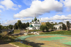 Church in Yaroslavl Stock Photography