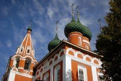 Church in Yaroslavl Russia. Stock Image