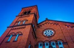 A church in York, Pennsylvania. Stock Images