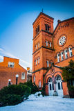 A church in York, Pennsylvania. Royalty Free Stock Images