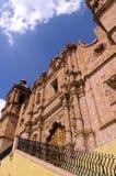 Church- Zacatecas, Mexico. Exterior of the 18th century Templo de Santo Domingo in the colonial mining city of Zacatecas, Mexico Royalty Free Stock Photos