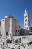 Church in Zadar, Croatia Royalty Free Stock Photos