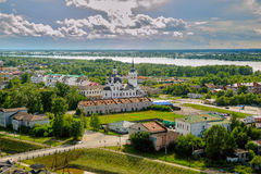 Church of Zakhariya and Elizabeth in Tobolsk Stock Image