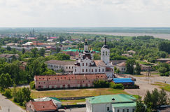 Church of Zakhariya and Elizabeth. Tobolsk. Siberia. Russia Royalty Free Stock Image
