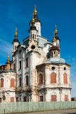 Church of Zakhariya and Elizabeth in Tobolsk Royalty Free Stock Photos