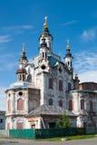Church of Zakhariya and Elizabeth in Tobolsk Stock Images