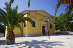 Church in Zakynthos island Royalty Free Stock Images