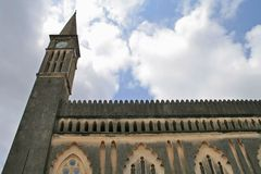 Church on Zanzibar royalty free stock photo