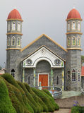 Church in Zarcero, Costa Rica Stock Photo