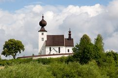 Church Zehra, Slovakia. Old gotique church in village Zehra ,Slovakia royalty free stock photos