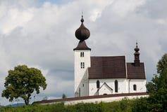 Church Zehra, Slovakia. Old gotique church in village Zehra ,Slovakia stock photo