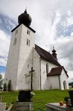 Church Zehra, Slovakia. Old gotique church in village Zehra ,Slovakia royalty free stock photography