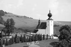 The church in Zehra, Slovakia Royalty Free Stock Photos