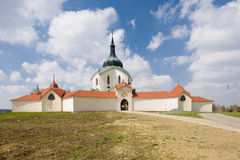Church in Zelena Hora Royalty Free Stock Photo