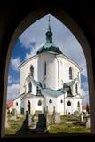 Church in Zelena Hora Stock Photography