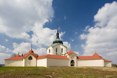 Church in Zelena Hora Royalty Free Stock Photography