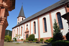 Church of Zell am H. Stock Images