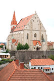 Church in Znojmo, Czech Republic. Royalty Free Stock Photos