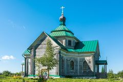 The Church of Zosima and Savvatia Stock Photography