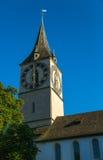 Church in Zurich Stock Image