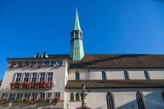 Church in Zurich Royalty Free Stock Photo
