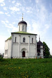 Church in Zvenigorod. Savvino-Storozhevsky monastery which is in the city Zvenigorod in the Moscow area Royalty Free Stock Photos