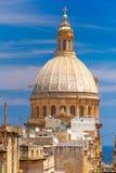 Churche της κυρίας υποστηρίγματός μας Carmel, Valletta Στοκ φωτογραφία με δικαίωμα ελεύθερης χρήσης