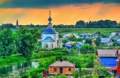 Churche do esmagamento em Suzdal, Rússia foto de stock