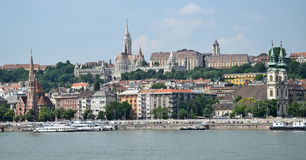 Churches of Budapest Stock Photography