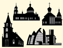 Churches and cathedrals Royalty Free Stock Photo