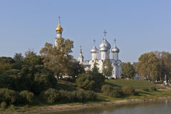 Churches of the city Vologda Royalty Free Stock Image