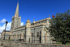 Churches of Derry in Northern Ireland Royalty Free Stock Photo