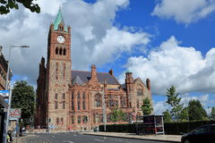 Churches of Derry in Northern Ireland Stock Photo