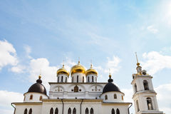 Churches of Dmitrov Kremlin, Russia Royalty Free Stock Photography