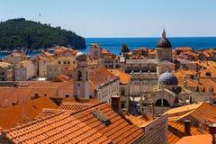 Rooftops in Dubrovnik, Croatia Stock Image