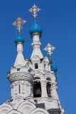 Churches dooms. In the Moscow, Russian Federation Royalty Free Stock Photo