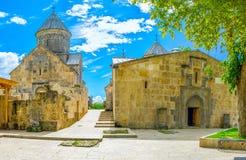 The Churches of Haghartsin Monastery Stock Photo