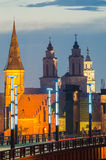 Churches in Kaunas, Lithuania royalty free stock photo