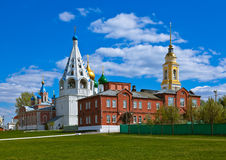 Churches in Kolomna Kremlin - Moscow region - Russia. Churches in Kolomna Kremlin - Russia - Moscow region royalty free stock images