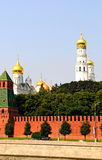 Churches of Kremlin Royalty Free Stock Image
