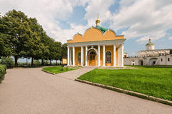 Churches in the Kremlin of Ryazan, Russia Royalty Free Stock Photography