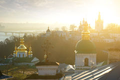 Churches in Lavra Stock Images