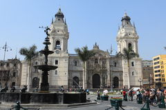 Churches of Lima Stock Photo