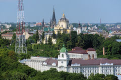 Churches in Lviv, Ukraine Stock Photos