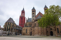 Churches in Maastricht Royalty Free Stock Photography