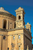 Churches of Malta - Mosta Rotunda. Parish church of St Mary dedicated to the Assumption of Our Lady, known as the Mosta Dome or Rotunda - Mosta, Malta Stock Photo