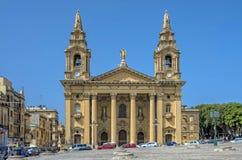 Churches of Malta - Floriana Royalty Free Stock Image