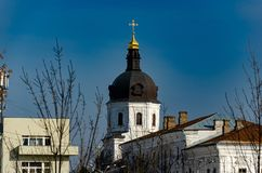 Churches and monasteries. Of Kiev royalty free stock photography